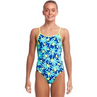 Funkita Girls Bird Brain Eco Diamond Back Swimsuit