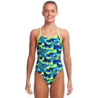 Funkita Girls Magnum PI Diamond Back Swimsuit