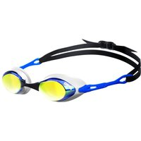 Arena Cobra Mirror Goggle - Black with smoke/silver lens
