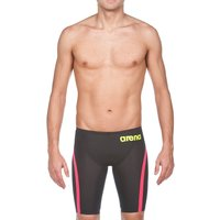 Powerskin Carbon Flex VX Jammer - Dark Grey and Red - Male Racing Size 24 Red