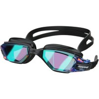 Swans Open Water Seven Mirrored Goggle - Blue/Silver