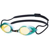 Swans SRX Mirrored Goggle - Dark Smoke/Emerald