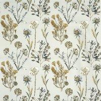 Allium Curtain Fabric Ember