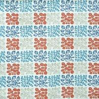 Cuba Curtain Fabric Coral Reef