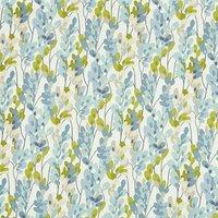 Twirl Curtain Fabric Indigo