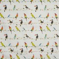 Toucan Talk Digital Curtain Fabric Tropical