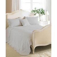 Toulon Quilted Bedspread Grey