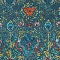Emma Shipley Amazon Curtain Fabric Navy