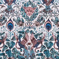 Emma Shipley Amazon Curtain Fabric Pink