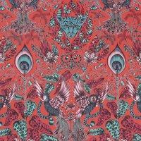 Emma Shipley Amazon Curtain Fabric Red