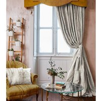 The Chateau - Bamboo Ready Made Lined Curtains Natural