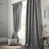Bayford Ready Made Lined Curtains Grey