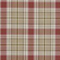 Berridale Curtain Fabric Red