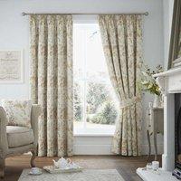 Berrington Luxury Ready Made Fully Lined Curtains Ochre