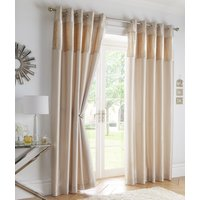 Boulevard Ready Made Eyelet Curtains Oyster