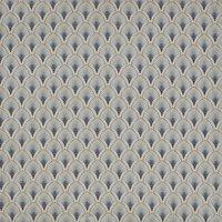 Camille Curtain Fabric Cloud
