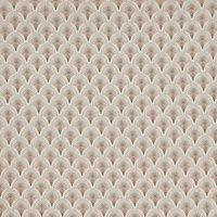 Camille Curtain Fabric Rosedust