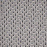 Camille Curtain Fabric Steel