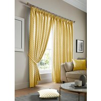 Cotswold Ready Made Lined Curtains Ochre
