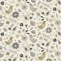 Dalarna Curtain Fabric Natural