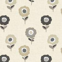 Elsa Curtain Fabric Natural