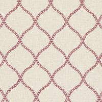 Sawley Curtain Fabric Raspberry