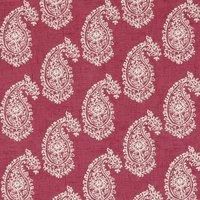 Harriet Curtain Fabric Raspberry
