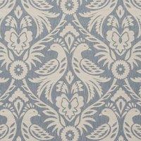 Harewood Curtain Fabric Chambray