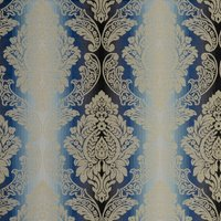 Ornato Curtain Fabric Aqua