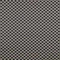 Reggio Curtain Fabric Ebony
