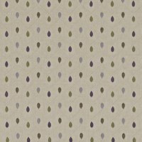 Healey Curtain Fabric Heather
