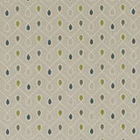 Healey Curtain Fabric Tealacacia
