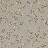 Hetton Curtain Fabric Caramel