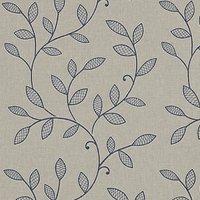 Hetton Curtain Fabric Denim