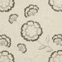 Richmond Curtain Fabric Charcoal