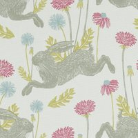 March Hare Curtain Fabric Summer