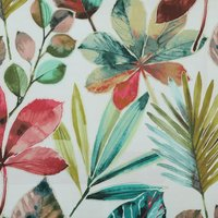 Rainforest Curtain Fabric Autumn