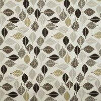 Fall Curtain Fabric Graphite