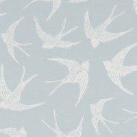 Fly Away Curtain Fabric Duckegg