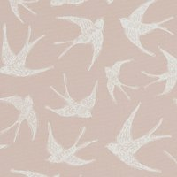 Fly Away Curtain Fabric Sorbet