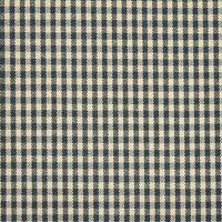 Gingham Check Curtain Fabric Navy