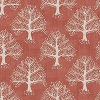 Great Oak Curtain Fabric Gingersnap