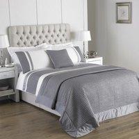 Honeycomb Bedding Silver