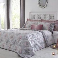 Indra Bedspread Blush
