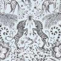 Emma Shipley Kruger Curtain Fabric Eggshell