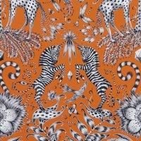 Emma Shipley Kruger Curtain Fabric Flame