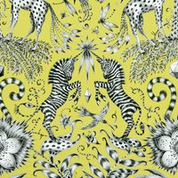 Emma Shipley Kruger Curtain Fabric Lime