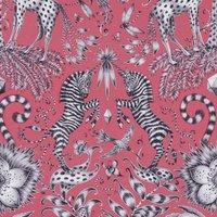 Emma Shipley Kruger Curtain Fabric Magenta