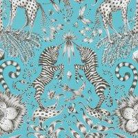 Emma Shipley Kruger Curtain Fabric Teal
