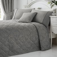 Laurent Bedspread Graphite